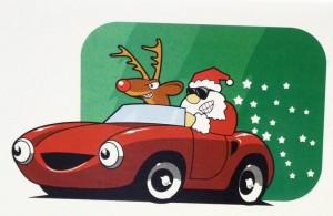 Santa Racing